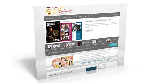 Ars Spoletium - Music editor